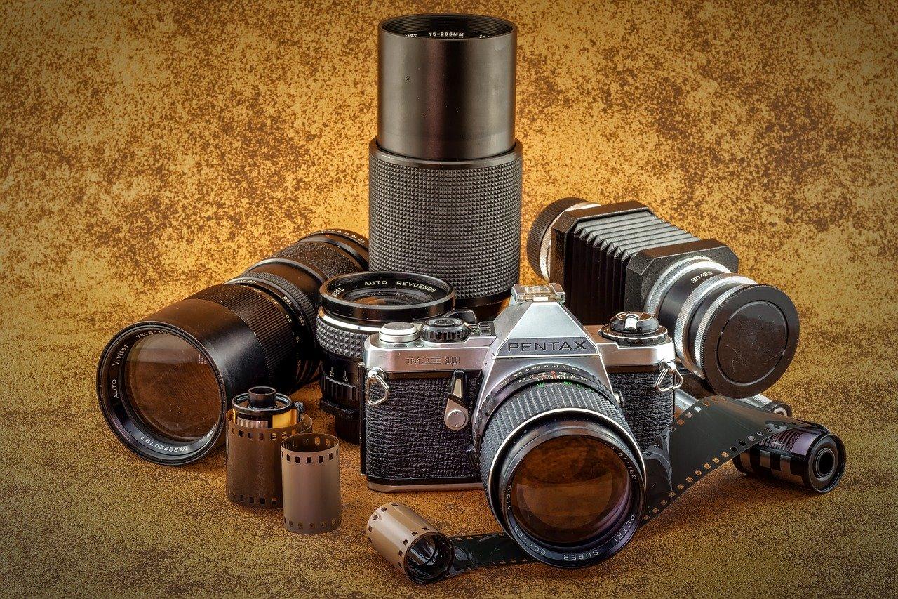 lenses, analog, old